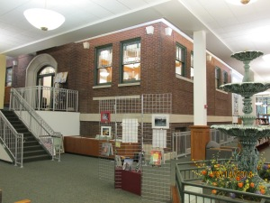 The original Carnegie Library inside the Carnegie Library of Steuben County (Angola, IN)