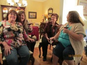 Ruth, Gail, Sue, and Dawn