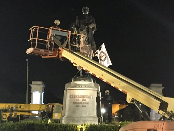 Third of four New Orleans Confederate monuments removed